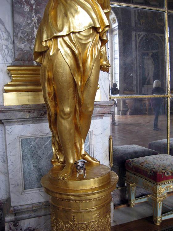 paperpets versailles gold pedestal