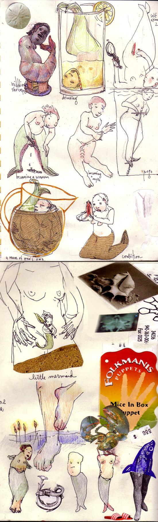 blog sketches mermaids2