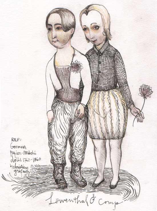 dolls löwenthal & comp