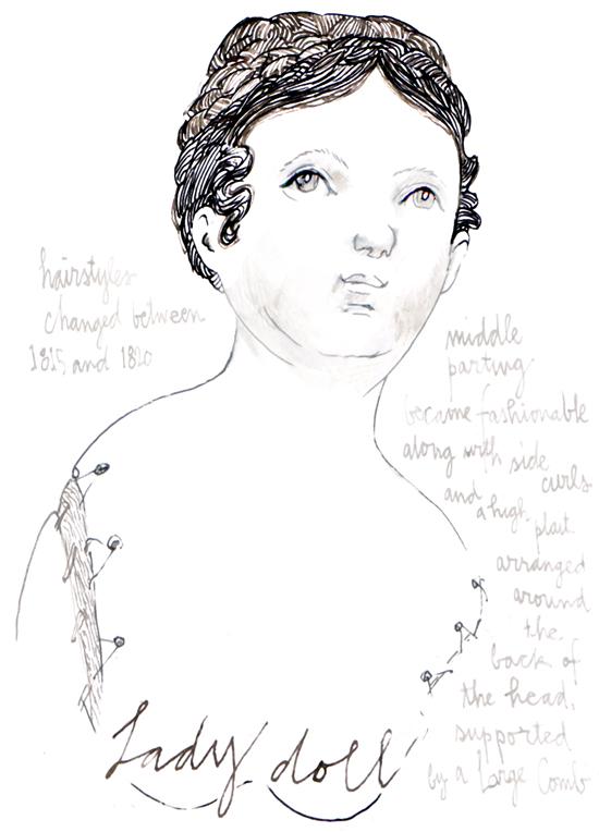 inks lady doll