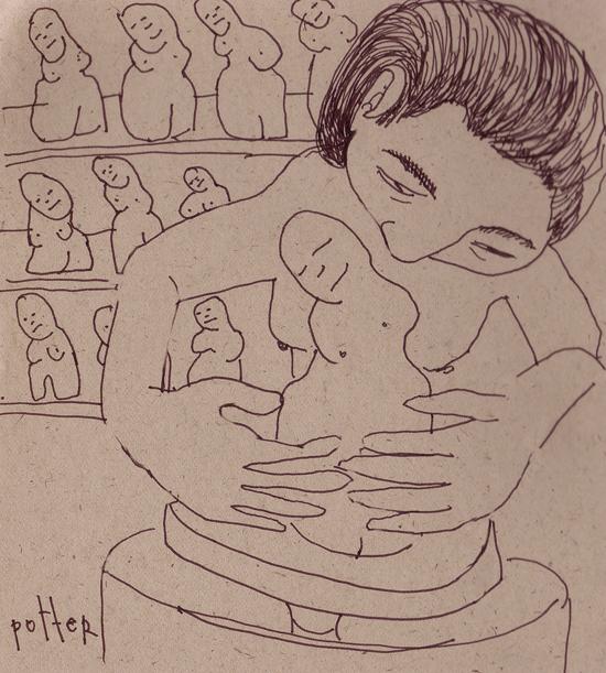 sketch potter