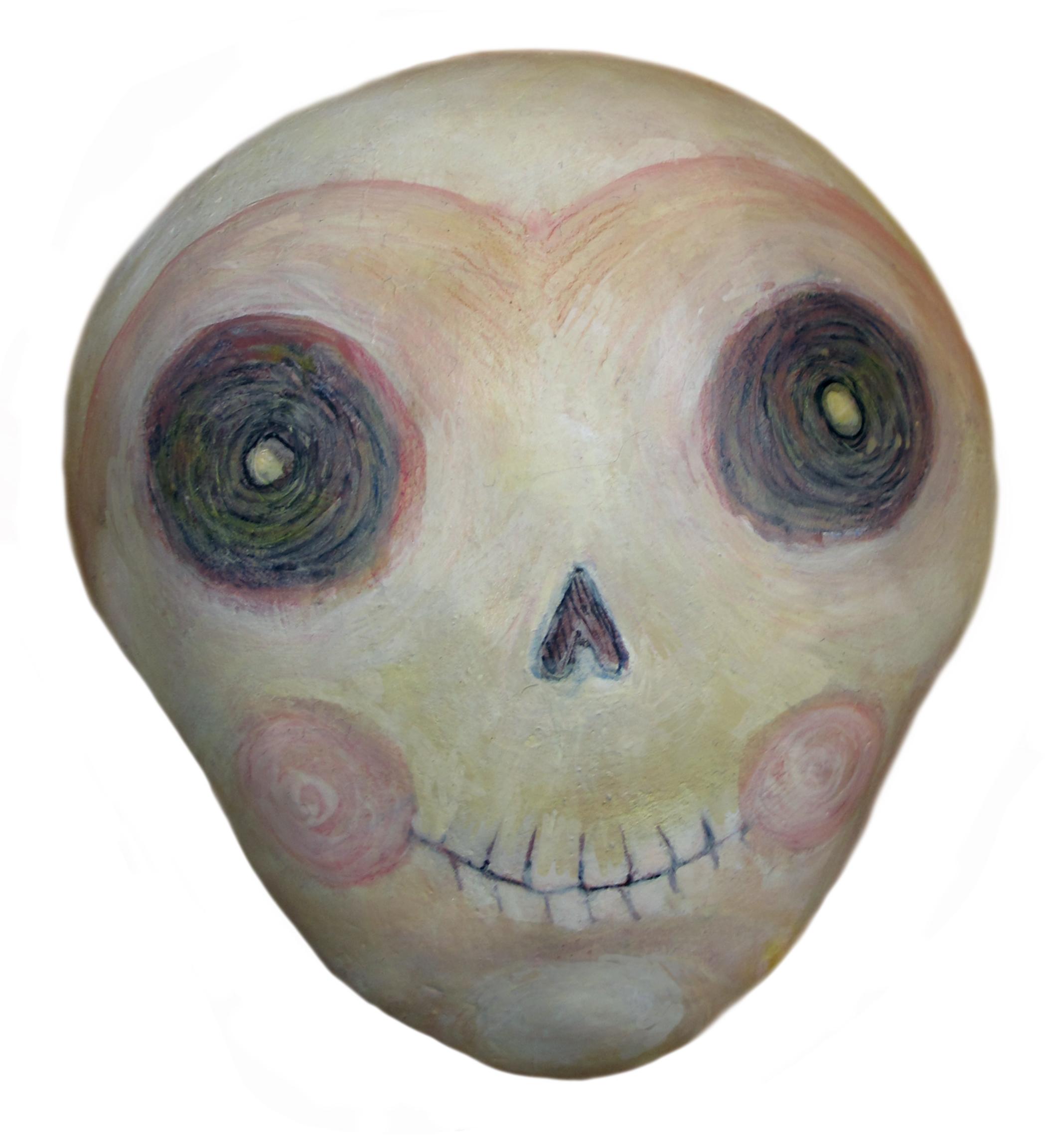 skull big eyes