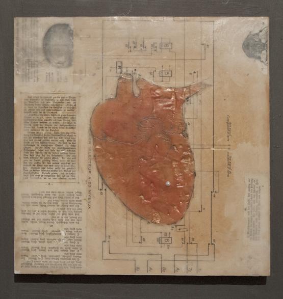 heart encaustic redone